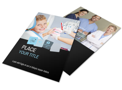 Dentist Office Flyer Template preview