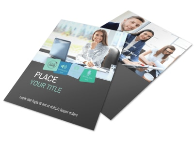 Marketing Agency Flyer Template preview