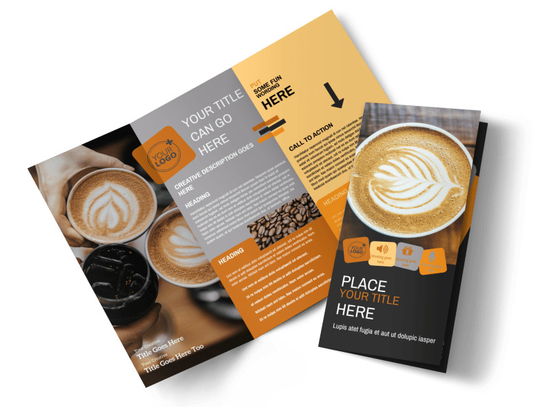 Urban Coffee Shop Brochure Template Preview 4
