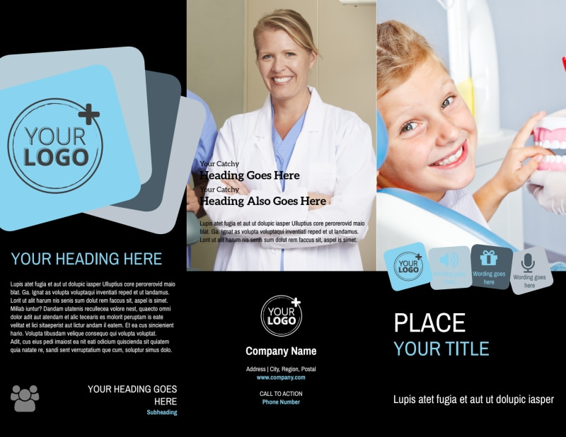 Family Dental Brochure Template Preview 2