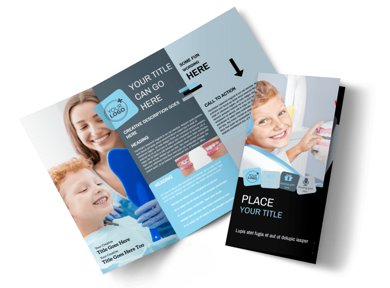 Family Dental Brochure Template Preview 1