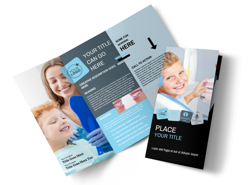 Family Dental Brochure Template Mycreativeshop