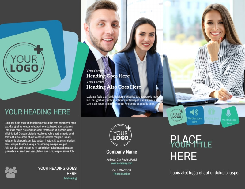 Marketing Agency Brochure Template Preview 2