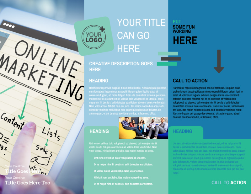 Marketing Agency Brochure Template Preview 3