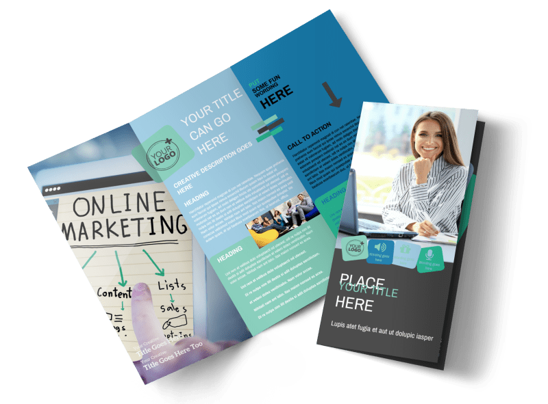 Marketing Agency Brochure Template Preview 1