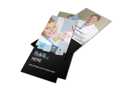 Dentist Office Flyer Template 2