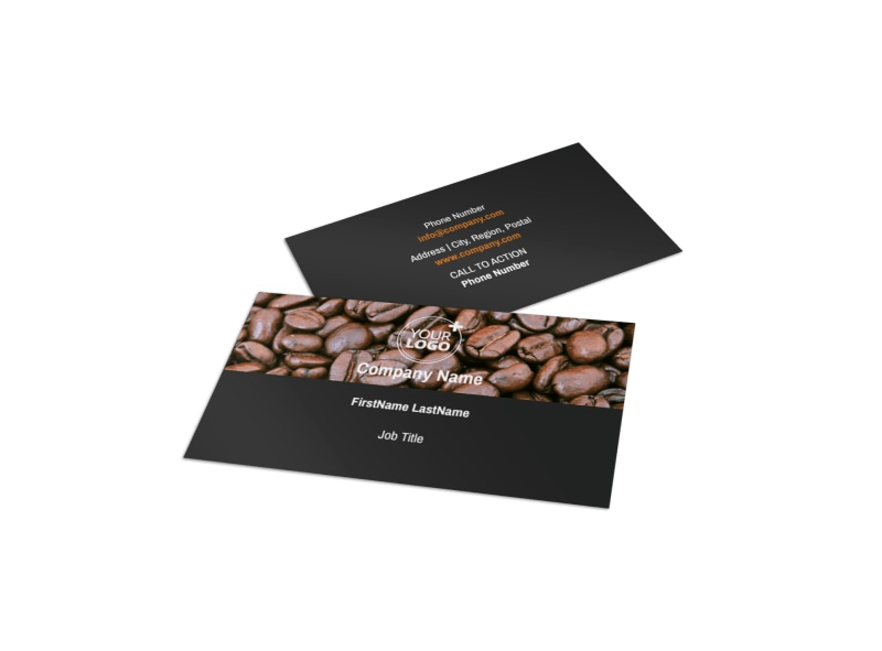 Urban Coffee Shop Business Card Template  Mycreativeshop