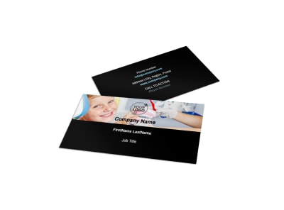 Dentist Office Business Card Template