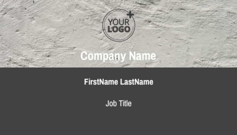 Marketing Agency Business Card Template Preview 2