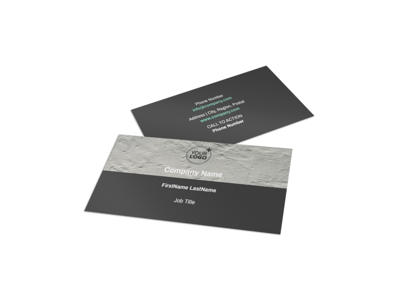 Marketing Agency Business Card Template Preview 1