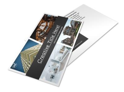 Architecture & Design Service Postcard Template 2 preview