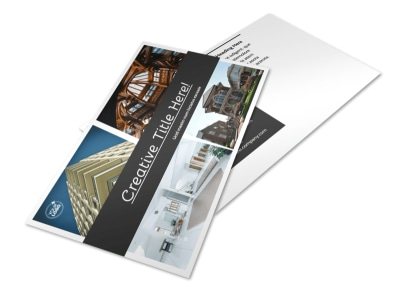 Architecture & Design Service Postcard Template 2 preview