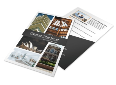 Architecture & Design Service Flyer Template 3 preview