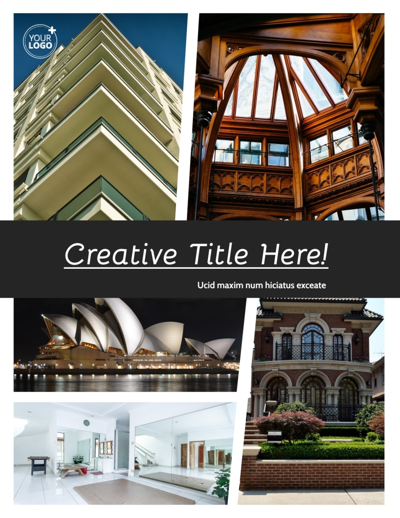 Architecture & Design Service Flyer Template Preview 2