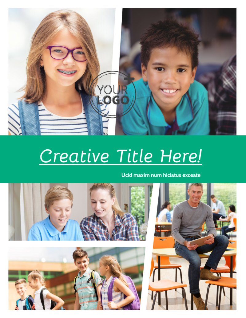 School Counseling Flyer Template Preview 2