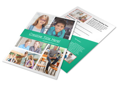 School Counseling Flyer Template