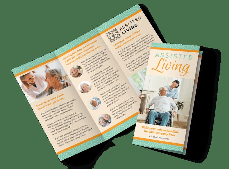 Nursing Home Care Brochure Template Preview 1