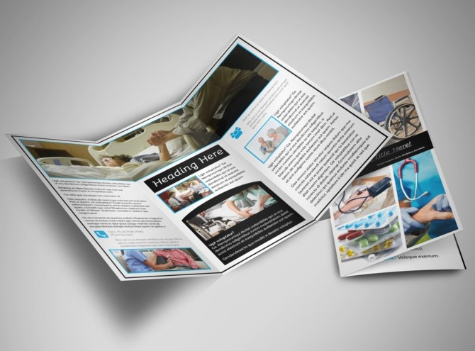 Elder Care & Nursing Home Brochure Template