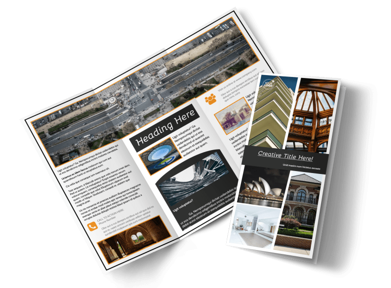 Architecture & Design Service Brochure Template Preview 1