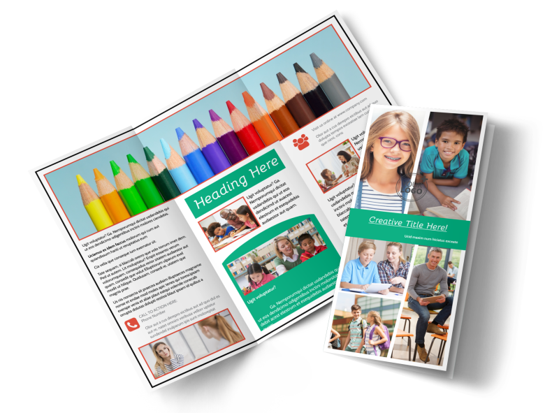 School Counseling Brochure Template Preview 1