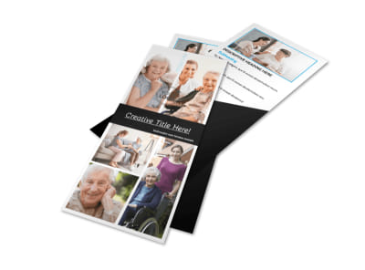 Elder Care & Nursing Home Flyer Template 2