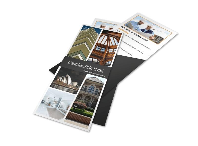 Architecture & Design Service Flyer Template Preview 4