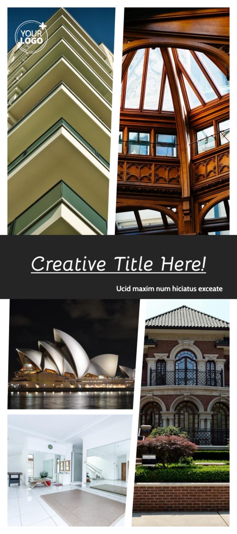 Architecture & Design Service Flyer Template Preview 2