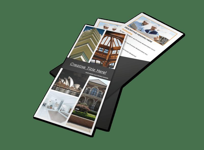 Architecture & Design Service Flyer Template Preview 1