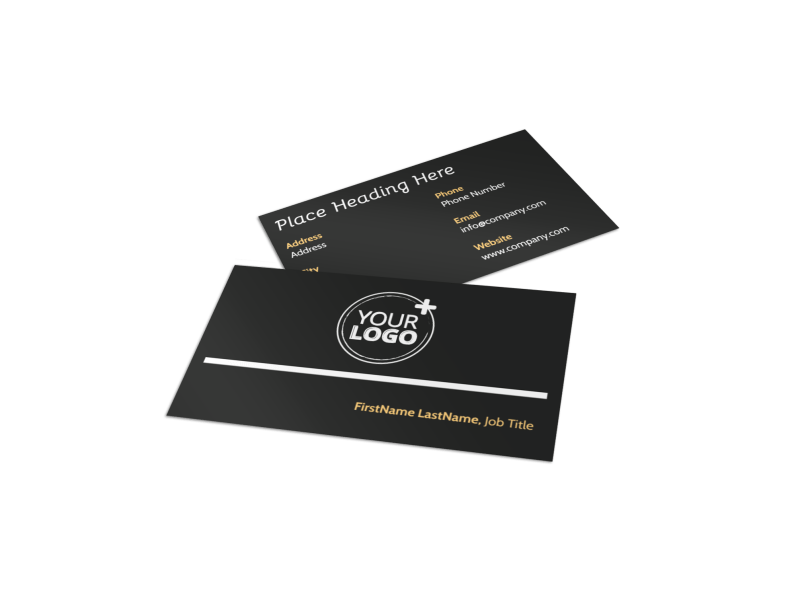 Architecture & Design Service Business Card Template Preview 1