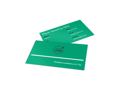 School Counseling Business Cards Template Preview