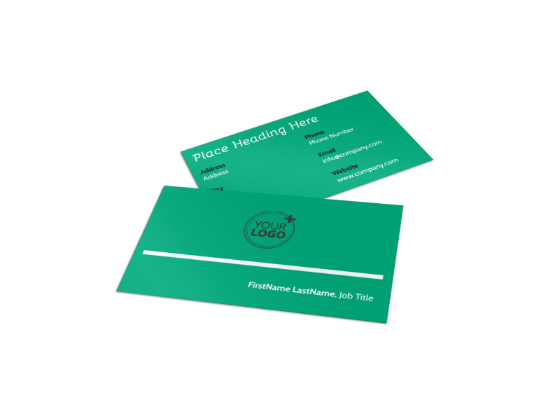 School Counseling Business Card Template Preview 1