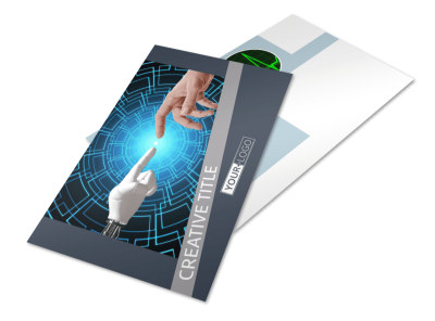 Medical Device Technology Postcard Template 2