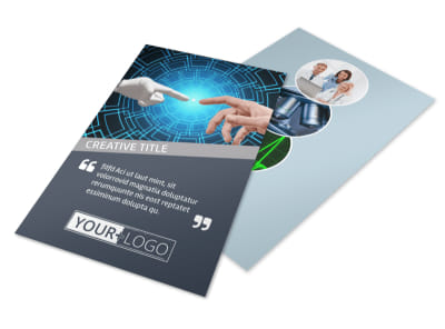 Medical Device Technology Flyer Template 3 preview