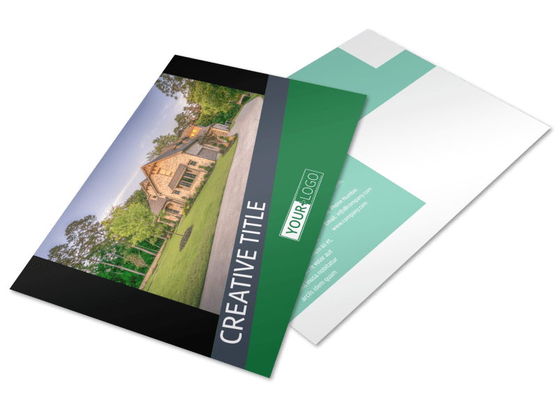 Big Landscape Postcard Template Preview 1
