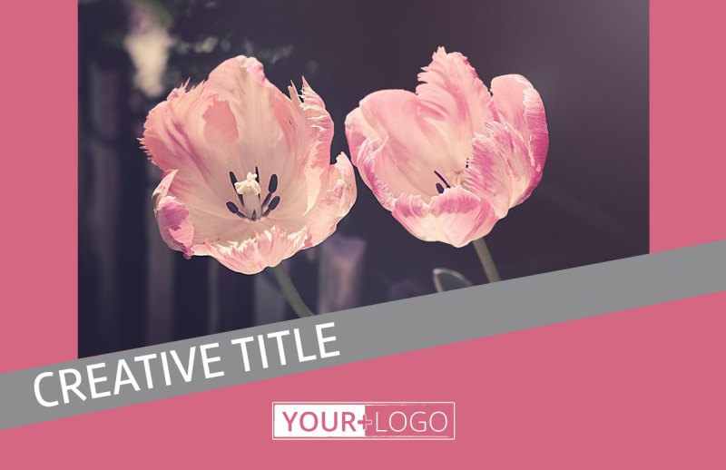 Floral Photography Postcard Template Preview 2