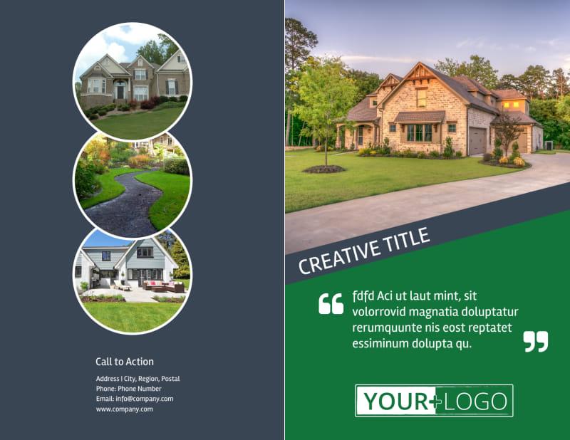 Big Landscape Brochure Template Preview 2