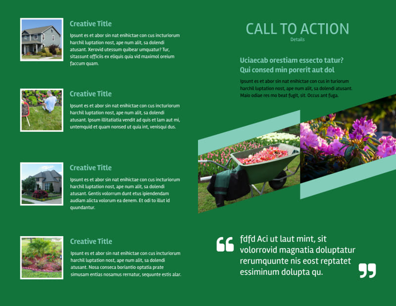 Big Landscape Brochure Template Preview 3