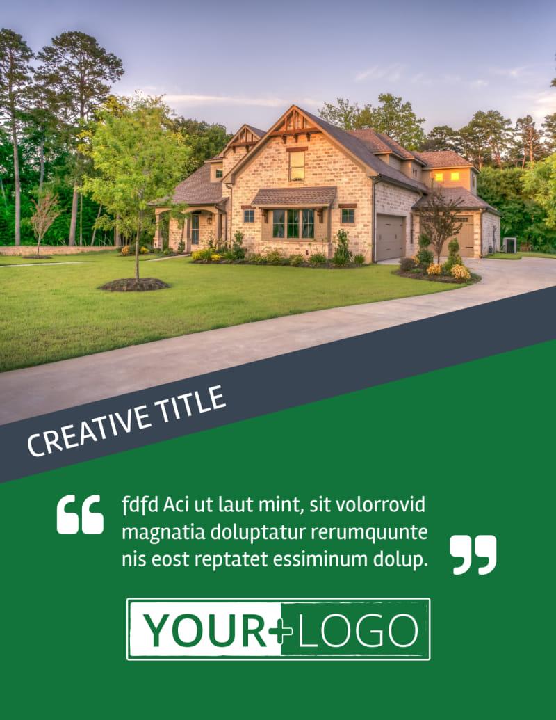 Big Landscape Flyer Template Preview 2