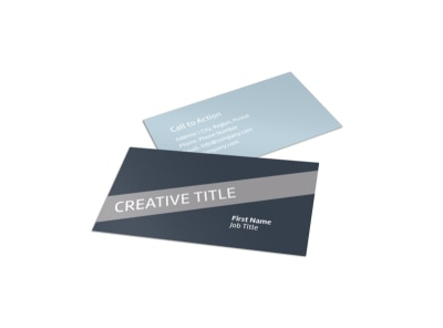 Medical Device Technology Business Card Template preview