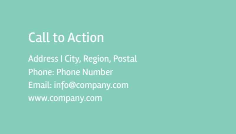 Big Landscape Business Card Template Preview 3