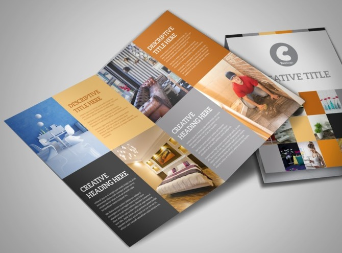 ... Designer u0026 Home Decor Business Brochure Templates :MyCreativeShop.com