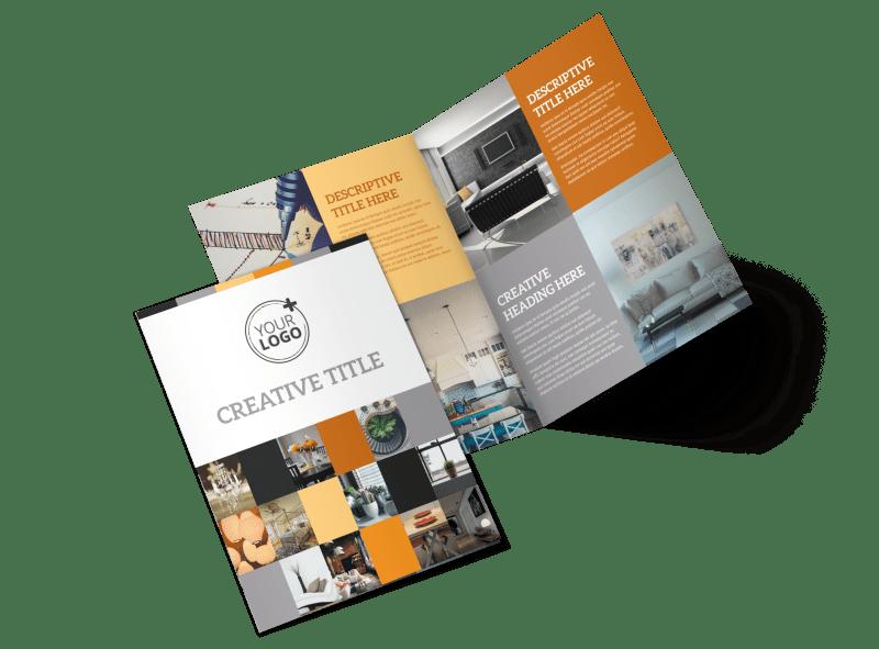 Creative Interior Design Brochure Template Preview 1