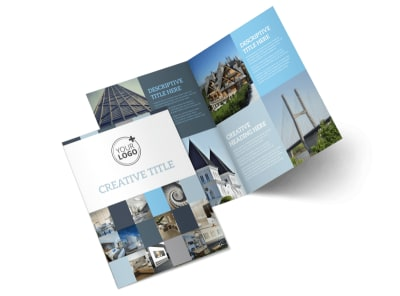 Architecture & Design Studio Bi-Fold Brochure Template 2 preview