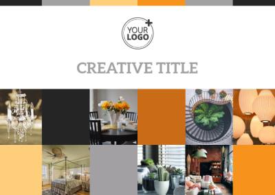 Creative Interior Design Postcard Template Preview 1