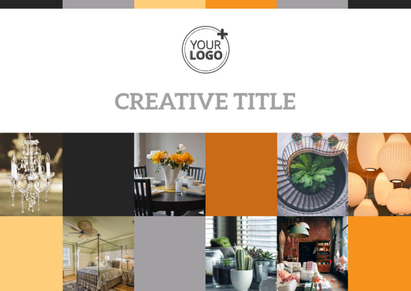 Creative Interior Design Postcard Template Preview 2
