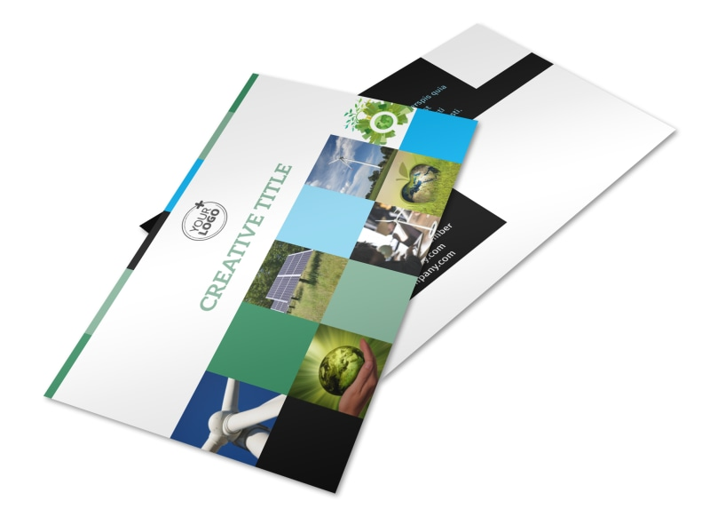 Green Energy Technology Center Postcard Template 2