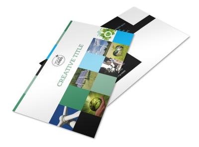 Green Energy Technology Center Postcard Template 2 preview