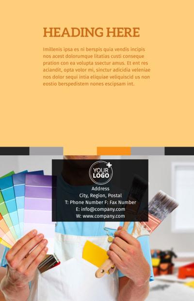 Creative Interior Design Flyer Template Preview 2