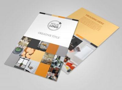 Creative Interior Design Flyer Template 3 preview