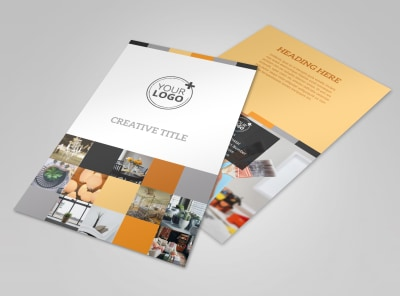 Creative Interior Design Flyer Template 3